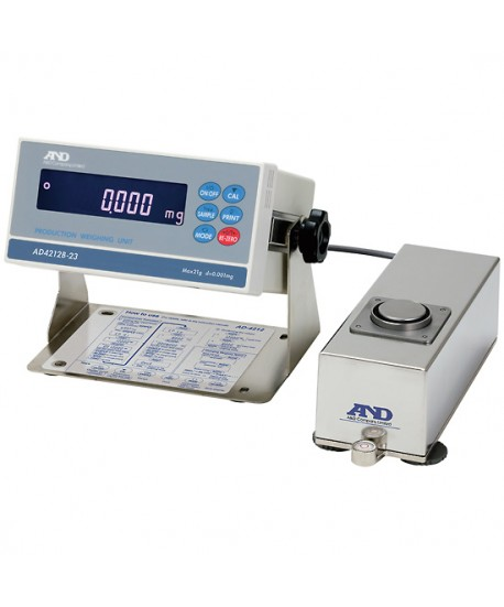 A&D AD-4212B-101 Production Weighing System, 31/110 g x 0.01/0.1 mg, with RS-232C