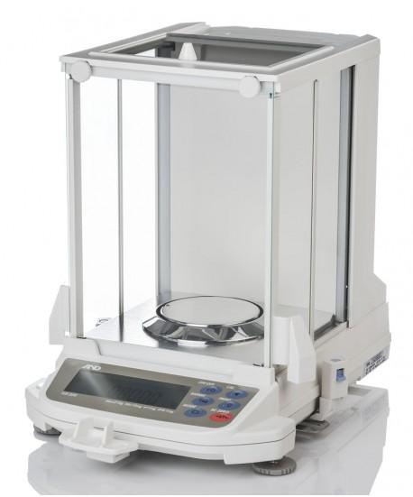A&D Gemini Series GR-202 Semi-micro Analytical Balance, 42/210 g x 0.01/0.1 mg with RS-232C
