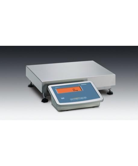 "Minebea Intec MW1S1U-60FE-L Midrics Complete Scale, 120 lb x 0.01 lb, 19.5"" x 15.75"" platform, stainless steel"