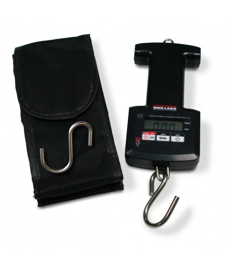 Rice Lake Weighing On-Site Model OS-45 Hanging Scale, 45 kg x 0.05 kg / 99 lb x 0.1 lb / 99 lb x 1 oz