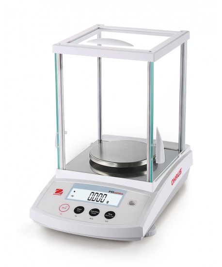Ohaus PR523N Analytical Balance with InCal and draftshield, 520 g x 0.001 g, NTEP Certified