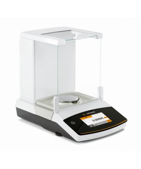 Sartorius QUINTIX125D-1S Quintix Series Semi-Micro Balance, 40/60/120 g x 0.01/0.01/0.1 mg