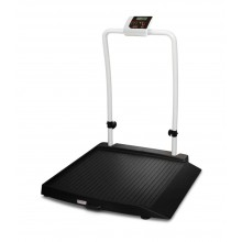 Rice Lake Weighing 350-10-2BT Single Ramp Wheelchair Scale, 1000 lb x 0.2 lb, with USB and Bluetooth