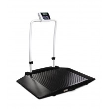 Rice Lake Weighing 350-10-3BT Dual Ramp Wheelchair Scale, 1000 lb x 0.2 lb, with USB and Bluetooth