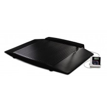 Rice Lake Weighing 350-10-8BT Dual Ramp Wheelchair Platform Scale, 1000 lb x 0.2 lb, with USB and Bluetooth