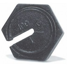 Rice Lake Weighing 10 kg x 100 g ASTM Class 7 Hexagon Slotted Counterpoise Weight