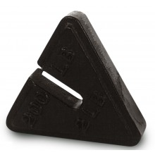 Toledo 500 lb x 5 lb ASTM Class 7 Triangle Slotted Counterpoise Weight (Toledo PN 49870)