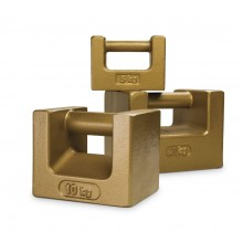 Rice Lake Weighing 1 kg ASTM Class 7 Grip Handle Weight with Accredited Certificate