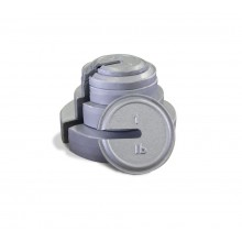 Rice Lake Weighing 1/2 lb ASTM Class 7 Slotted Interlocking Weight with Accredited Certificate