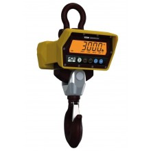 CAS CCB Series CCB-1TLF Crane Scale, 2000 lb x 0.5 lb, with ZigBee wireless communication