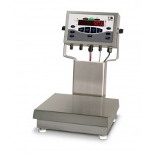 "Rice Lake Weighing CW-90X Series Washdown Over/Under Checkweigher, 2.5 kg x 0.0005 kg, 10"" x 10"" platform, 230VAC, NTEP approved"