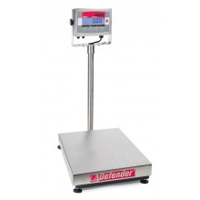 Ohaus D32XW30VR Defender 3000 Xtreme Washdown Bench Scale, 66 lb x 0.02 lb, NTEP