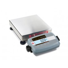 Ohaus D51P10QR5 Defender 5000 Low Profile Bench Scale, 25 lb x 0.005 lb, NTEP
