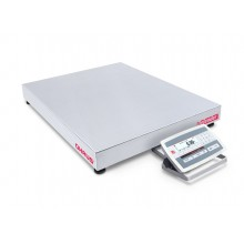 Ohaus D52XW125WQV5 Defender 5000 Low Profile Washdown Bench Scale, 250 lb x 0.05 lb, NTEP Certified