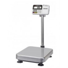 A&D HV-CP Series HV-200KCP Triple Range Scale with printer, 150/300/500 lb x 0.05/0.1/0.2 lb, NTEP approved