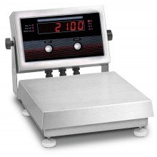 "Rice Lake Weighing IQ plus 2100SL Series Bench Scale with attachment bracket, 10"" x 10"" platform, 20 lb x 0.005 lb, NTEP approved"