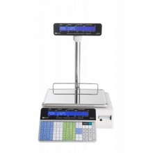 Ishida Uni-3L1 Dual Range Price Computing Scale with Pole and Printer, 30 lb x 0.01 lb, NTEP approved