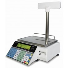 Ishida Uni-3L2 Dual Range Price Computing Scale with Pole and Printer, 30 lb x 0.01 lb, NTEP approved