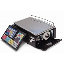 Ishida Uni-5 Dual Range Price Computing Scale with Printer, 30 lb x 0.01 lb, RF, NTEP approved