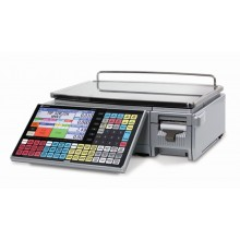 Ishida Uni-7 Dual Range Price Computing Scale with Printer, 30 lb x 0.01 lb, RF, NTEP approved