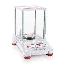 Ohaus PX124 Pioneer Analytical Balance with InCal and draftshield, 120 g x 0.1 mg