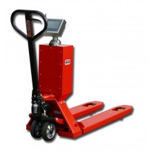 RAVAS ProLine-Touch Multi-Range Pallet Jack Scale with touchscreen indicator, 5,000 lb x 1 lb