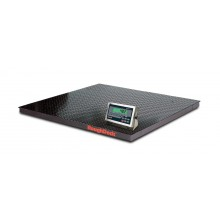Rice Lake Weighing RoughDeck Rough-n-Ready Floor Scale System with 482 Plus Legend with internal battery, 10,000 lb, 115 VAC, NTEP approved