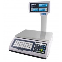 CAS S-2000 Jr. S2000JR-30LP Price Computing Scale, 15/30 lb x 0.005/0.01 lb, LCD with pole display, NTEP approved - SPECIAL OFFER - Limited stock available