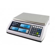 CAS S-2000 Jr. S2000JR-30L Price Computing Scale, 15/30 lb x 0.005/0.01 lb, LCD display, NTEP approved - SPECIAL OFFER - Limited stock available