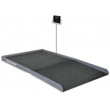 Rice Lake Weighing Summit SB-1150BT Bariatric Wheelchair Scale, 1000 lb x 0.2 lb, with USB and Bluetooth