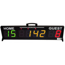 Edge Scoring Systems Model SS-2000T, Indoor Multi-Sport Scoring System with Tablet