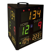 Edge Scoring Systems Model SS-3300T, Wireless Three-Sided Indoor Scoring System with Tablet
