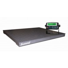 Rice Lake Weighing Summit 3000 Floor Scale Package with 120 Plus Indicator, 5000 lb x 1 lb, 115 VAC, NTEP approved
