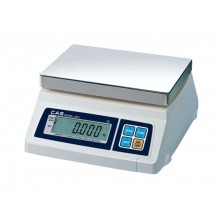 CAS SW-1D Series SW-50D Portion Control Scale with dual display, 50 lb x 0.02 lb, NTEP approved