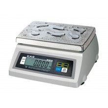CAS SW-1W Series SW-1W20DD Washdown Portion Control Scale, 10/20 lb x 0.005/0.01 lb, NTEP approved