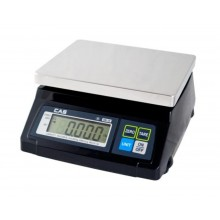 CAS SW-RS Series SW-RS(20lb) POS Interface Scale, 20 lb x 0.01 lb, NTEP approved