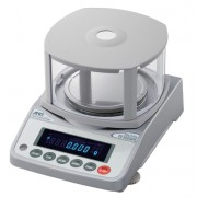 "A&D FZ-120iWP Water Proof / Dust Proof Precision Balance, 122 g x 0.001 g, with internal calibration and breeze break (3.4"" high)"