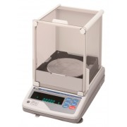 A&D MC-1000S Mass Comparator, 1100 g x 0.1 mg, with auto-centering pan and glass breeze break