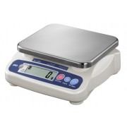 A&D SJ Series SJ-5000HS General Purpose Low Profile Digital Scale, 5000 g x 2 g, NSF listed