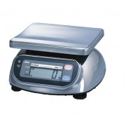 A&D SK-WP Series SK-1000WP Washdown Digital Scale, 1000 g x 0.5 g, NTEP approved & NSF listed