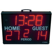 Edge Scoring Systems Model SS-5000, Wireless Portable Outdoor & Indoor Scoreboard with Remote
